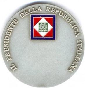 Medaglia Presidente della Repubblica 2007
