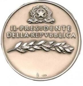 Medaglia Presidente della Repubblica 2008