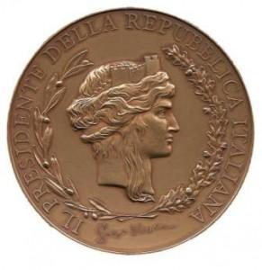 Medaglia Presidente della Repubblica 2009